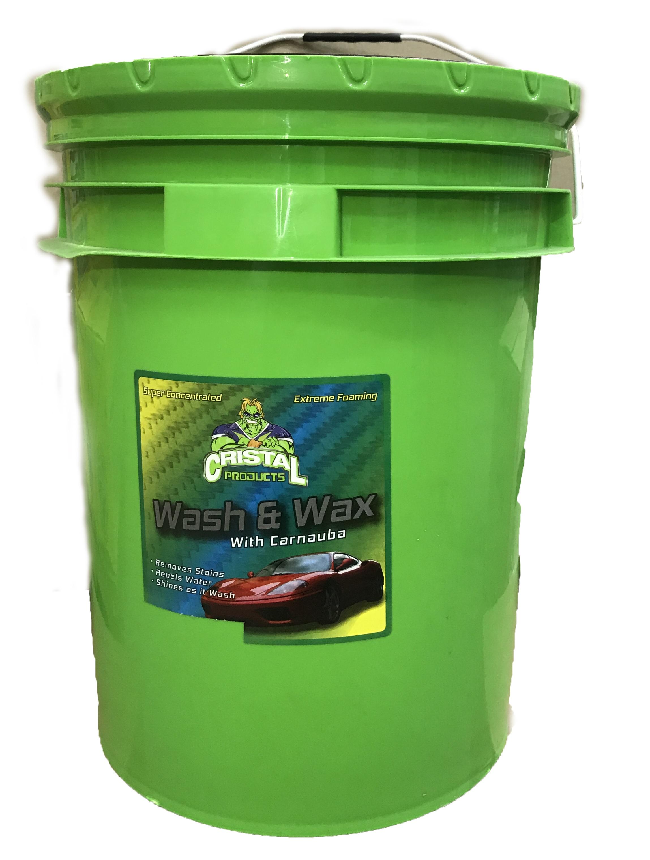 شامبو الغسيل الشمعي Wash & Wax